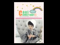 宝宝可爱养成记-A4杂志册(24p) 亮膜