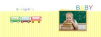BABY-成长的故事-全家福-8x12横款硬壳对裱照片书32p