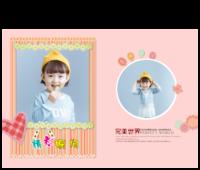 宝贝的精彩瞬间(清新可爱记录宝贝成长的每一个精彩瞬间)-15寸硬壳蝴蝶装照片书24p