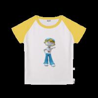 爱生活的贝贝-时尚童装插肩T恤