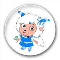 花羊羊-5.8个性徽章