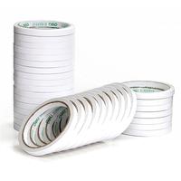 得力30400棉纸双面胶带 双面胶 强力胶(32卷/袋)