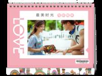 爱情-8寸单面印刷台历