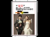 我们结婚吧 结婚(照片可更换)-A4杂志册26p(哑膜、胶装)