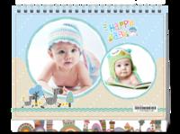 Happy Baby-快乐宝贝-8寸单面印刷台历
