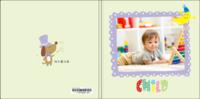 快乐魔法屋(成长记录、幼儿园毕业册)文字可编辑-8x8轻装文艺照片书42p