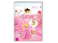 公主驾到-宝贝公主的童话之旅(女孩的公主梦)-A4杂志册26p(哑膜、胶装)