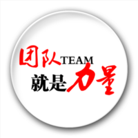 团队就是力量-5.8个性徽章