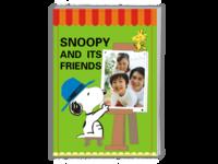 史努比和朋友们(可爱)样片、文字可替换-A4杂志册26p(哑膜、胶装)