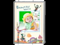 美丽世界 可爱 照片可以更换-A4杂志册26p(哑膜、胶装)