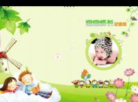 宝宝成长纪念册-A4硬壳照片书26P哑膜