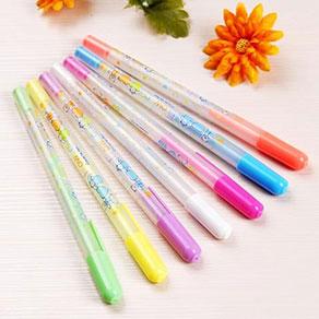 彩虹水粉笔