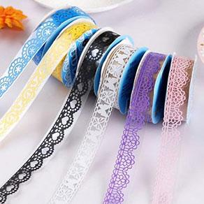 彩色蕾丝胶带