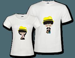 时尚情侣T恤