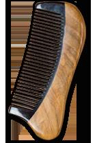 檀木牛角梳