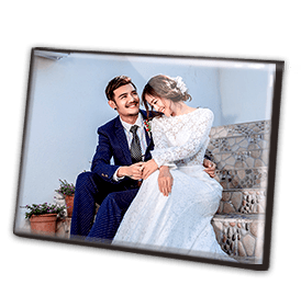 40寸水晶结婚版画