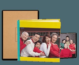 8x12对裱特种纸照片书20p套装