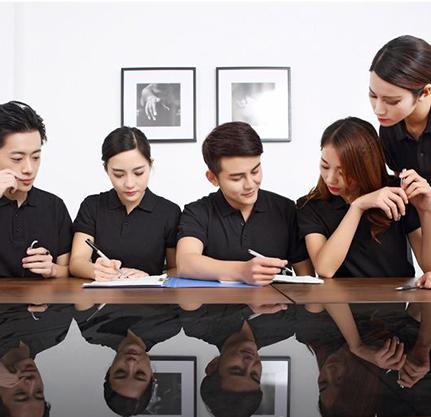 企业POLO衫-同心协力