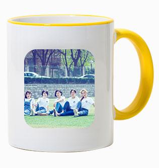 陶瓷内彩马克杯
