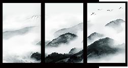 新中式组合框装饰画
