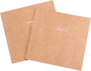 方10寸牛皮纸杂志册