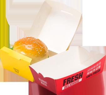 汉堡盒、船盒、鸡米花盒
