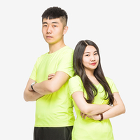 200g萊卡(ka)純色圓領(ling)T恤(xu)