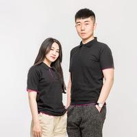 AG230g雙拼polo衫T恤(xu)