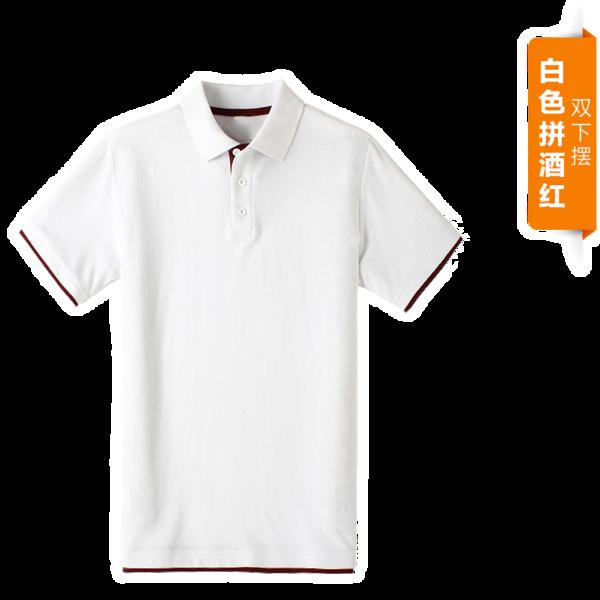 自由DIY-双拼POLO衫