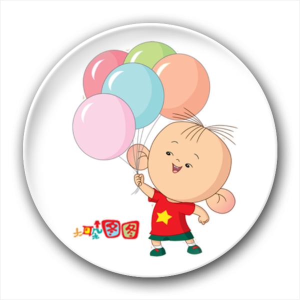 大耳朵图图-可爱卡通宝宝-创意冰箱贴