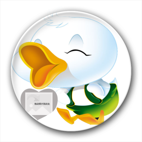 可爱的卡通小鸭子-创意冰箱贴