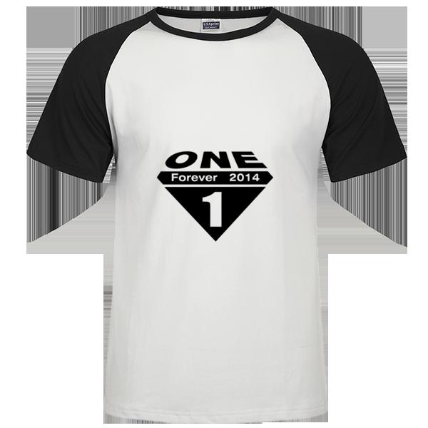 一班班服-超人时尚插肩纯棉短袖t恤男款图片