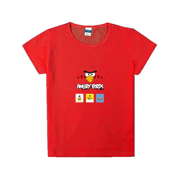 愤怒的小鸟-时尚童装修身t恤图片