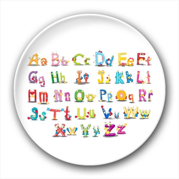 26个英文字母大小写-4.4个性徽章图片