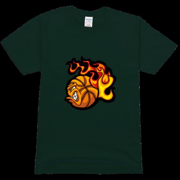 恶魔篮球舒适彩色t恤图片