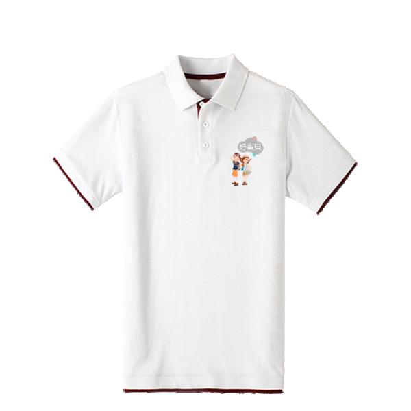 童年 时尚-双拼POLO衫