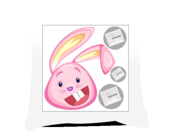 呆萌兔子简笔画