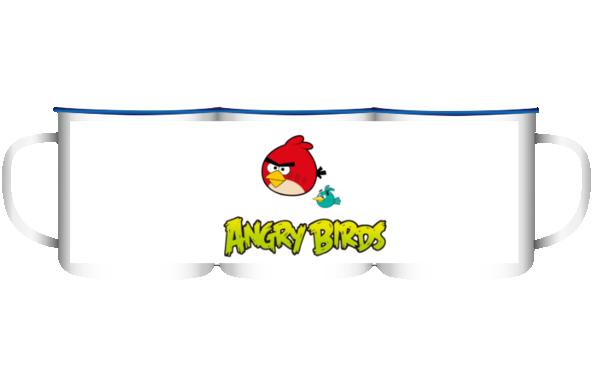 愤怒的小鸟-大号搪瓷杯图片