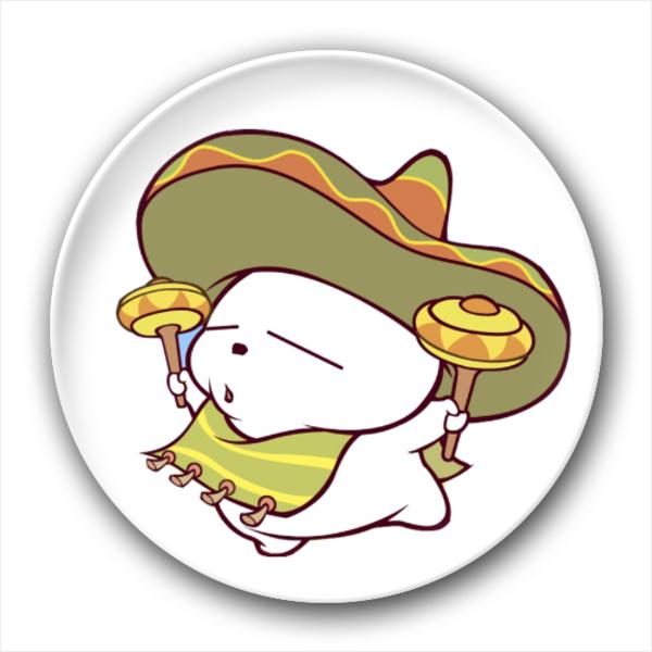 可爱 长方/流氓兔/4.4个性徽章