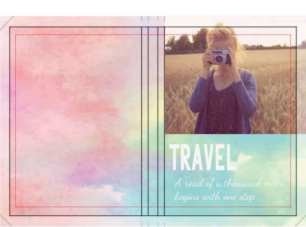 旅行(照片可替换)-硬壳精装照片书20p