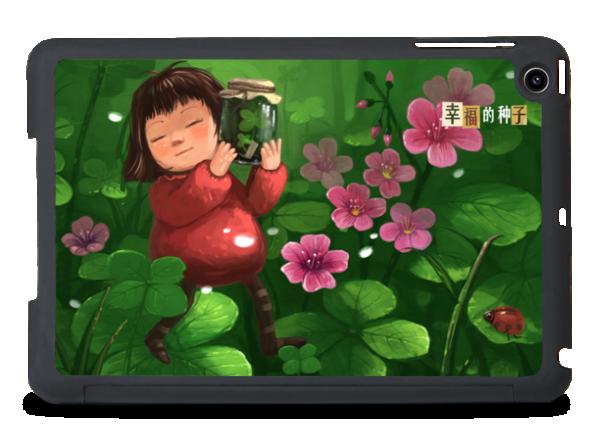 幸福的花海-創意ipad mini保護殼圖片