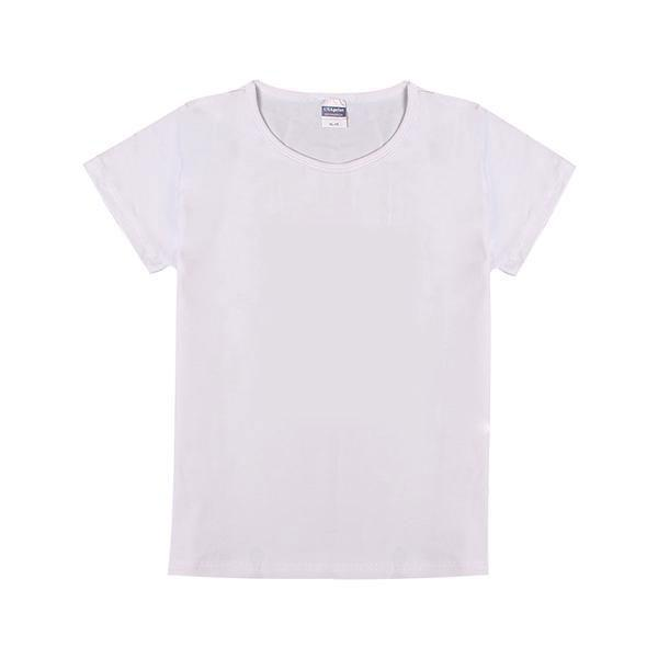 自由DIY-童装纯棉白色T恤