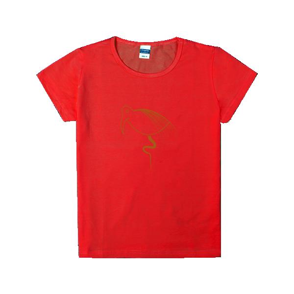 简笔画小怪兽系列-时尚童装修身t恤