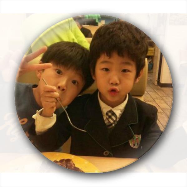 李俊秀 卡通/韩国爸爸去哪儿可爱李俊秀兄弟/卡通小人钥匙扣
