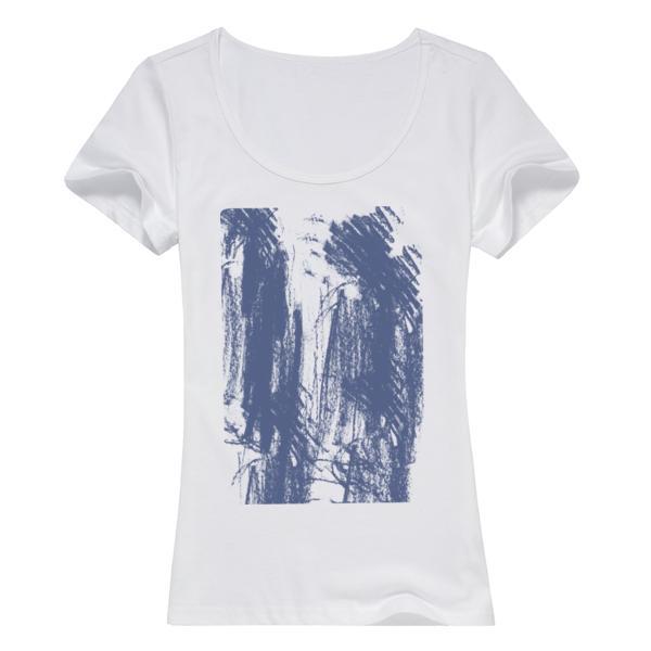 个性潮流衬衫女款纯棉白色T恤
