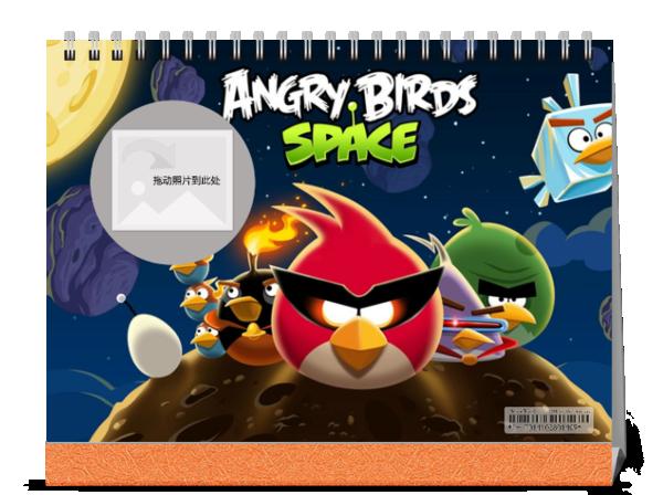 愤怒的小鸟-7寸单面印刷台历图片