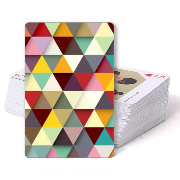 酷炫立体几何-双面定制扑克牌图片