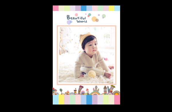 beautiful world 美丽世界 艺术世界 缤纷多彩的童年记忆卡通世界yy27-8x12印刷单面水晶照片书21p