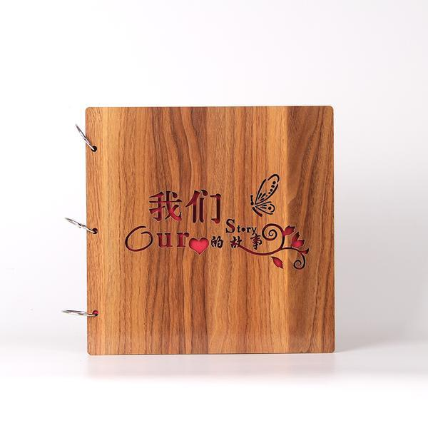 16寸木质手工粘贴式DIY相册