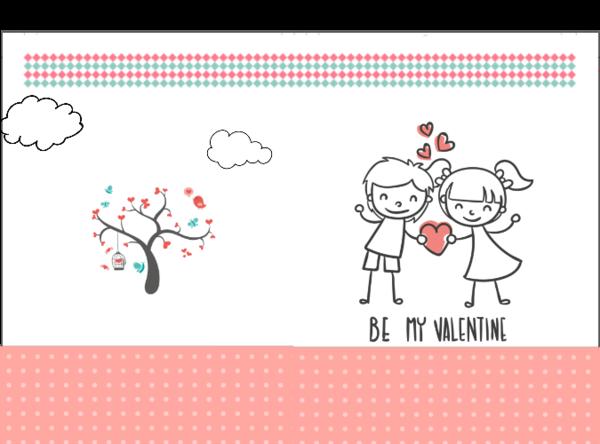 我的爱情·情侣简笔画·简单爱情-硬壳照片书24p-最简单的爱情表白